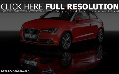Обои Audi A1 фото картики заставки