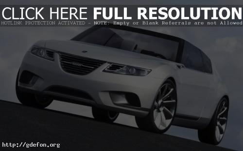 Обои Saab 9 X Air Concept фото картики заставки