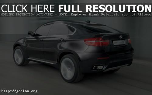 Обои BMW X6 Concept фото картики заставки