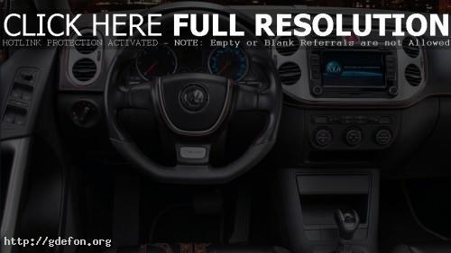Обои Интерьер Volkswagen Tiguan 2011 фото картики заставки