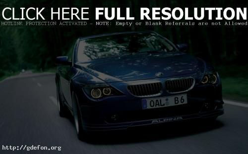 Обои BMW B6 фото картики заставки