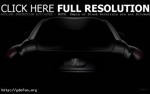 Обои Peugeot, RCZ, авто, машины, автомобили фото картики заставки