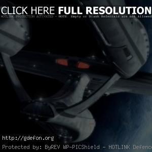 Космический корабль Enterprise из Star Trek