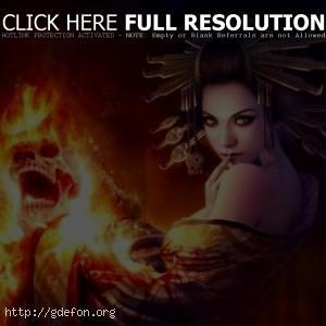 Огонь ведьмы