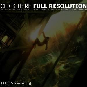 Мутант в постапокалиптическом городе