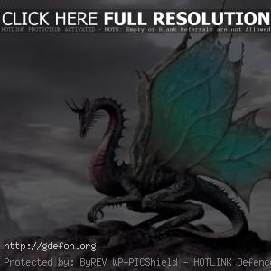 Волшебный сказочный дракон
