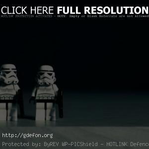 Имперские штурмовики в Lego