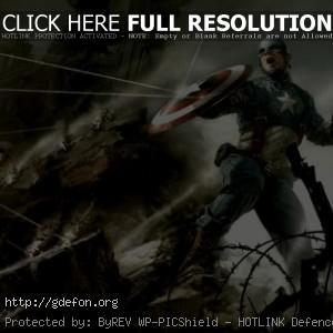 Капитан Америка на баррикадах