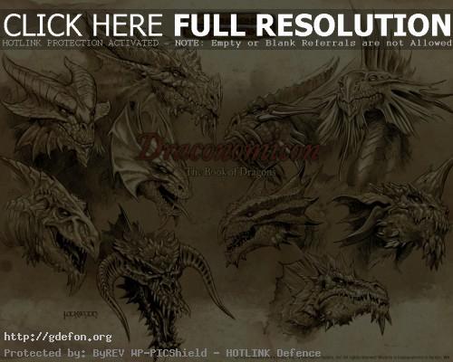 Обои Draconomicon — The Book of Dragons фото картики заставки