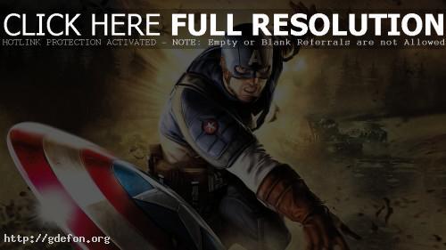 Обои Капитан Америка фото картики заставки