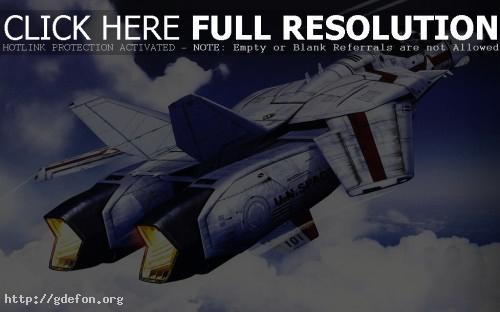 Обои Реактивный самолёт будущего фото картики заставки