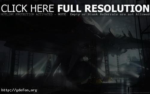 Обои Сборка космического корабля фото картики заставки