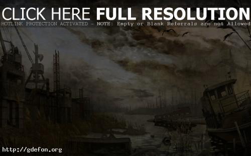 Обои Панорама из Сталкера фото картики заставки