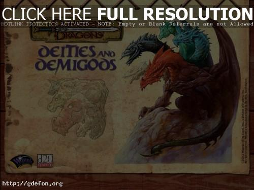 Обои Тиамат — Королева драконов фото картики заставки