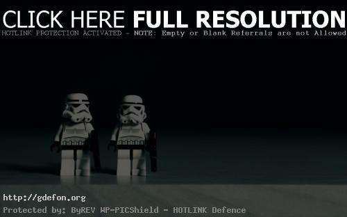 Обои Имперские штурмовики в Lego фото картики заставки