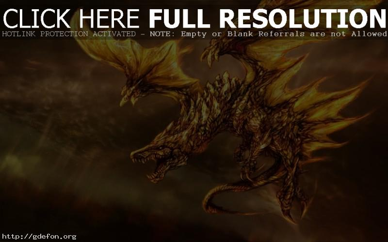 картинки на рабочий стол дракон