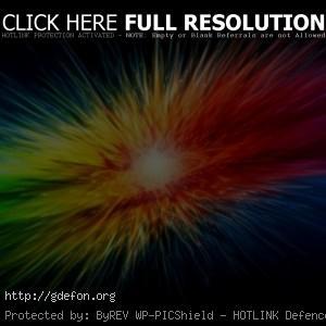 Взрыв из ярких цветов