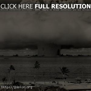 Испытания ядерной бомбы