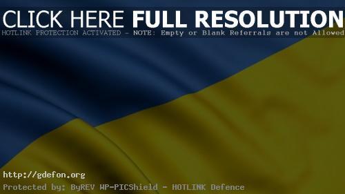 Обои Флаг Украины фото картики заставки