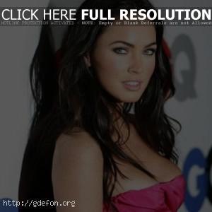 Megan Fox в открытом платье