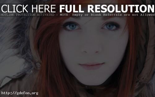 Обои девушка с глазами цвета неба фото картики заставки