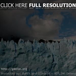 Лед, ледник, небо