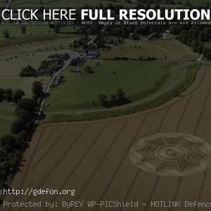 Нло, поле, круги на полях