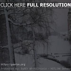 Зима, Тироль, Австрия, снег