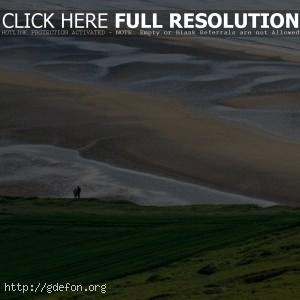 Пляж, берег, поляна