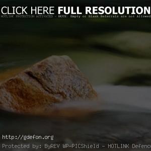 камень, вода, поток