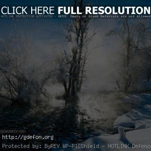 зима, снег, солнце