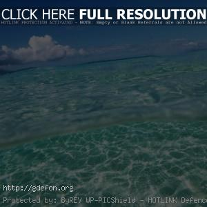 Море, небо, облака
