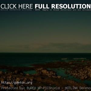Природа, пейзаж, море, небо, берег, камни, яркие