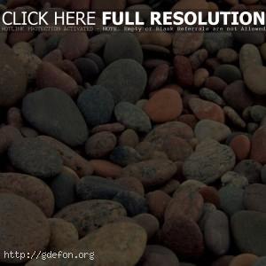 фото разноцветная галька