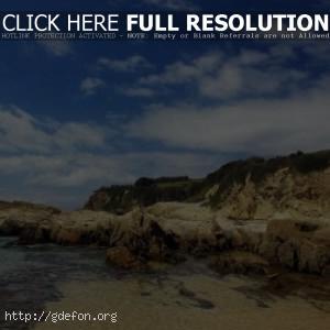 Природа, залив, берег