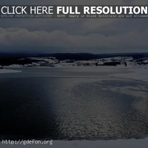 Море, лед, озеро
