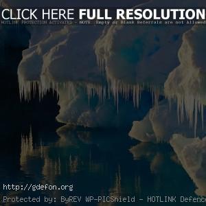 Лед, ледник, айсберг, вода