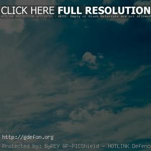 Небо, облака, свет