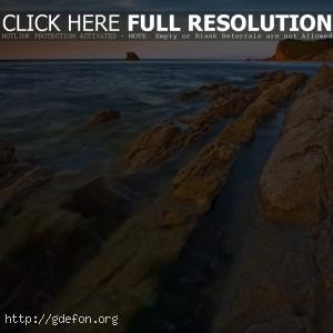 Море, горы, восход