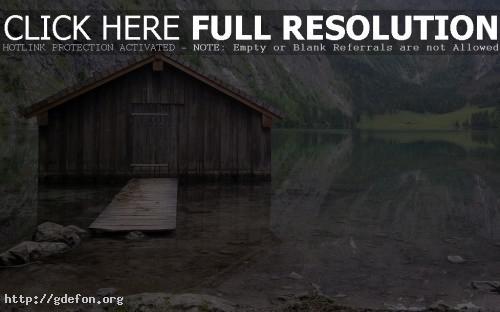 Обои Рыбацкий домик фото картики заставки