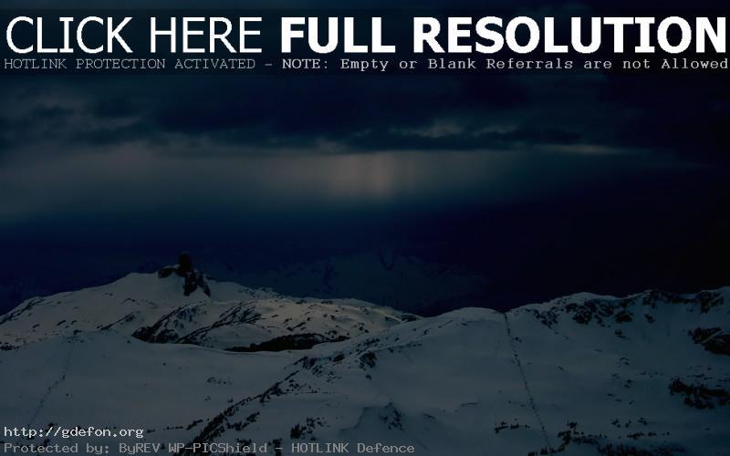 Обои Зима, горы, снег фото картики заставки
