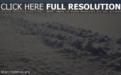 Обои Облака сверху фото картики заставки