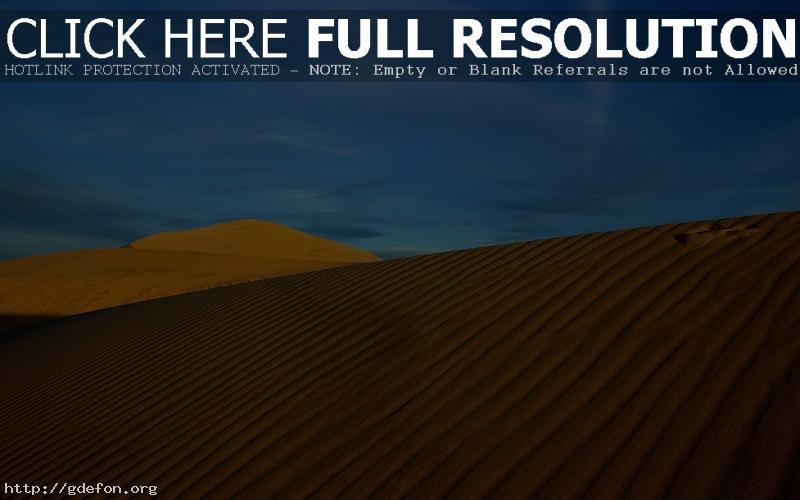 Обои Пейзаж, пустыня, солнце, жара, небо фото картики заставки