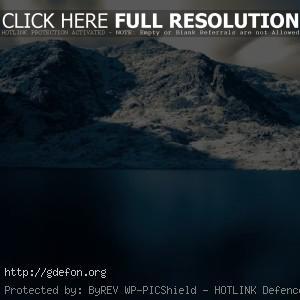сияние над горами
