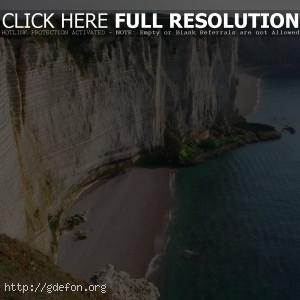 утес, море, прибрежье, скала