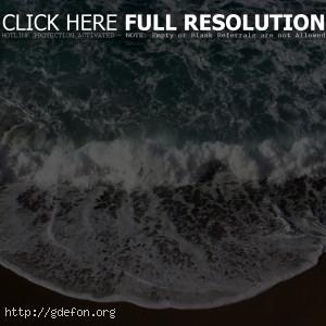Море, берег, прибой