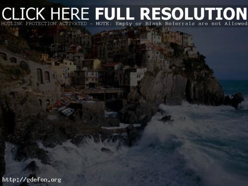 Обои Итальянское море фото картики заставки