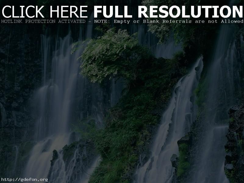 Обои Япония, водопады фото картики заставки
