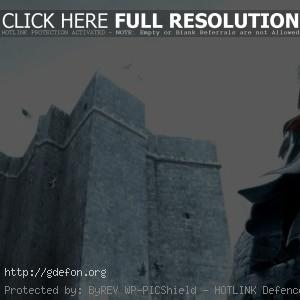 Ассасин на вершине крепости