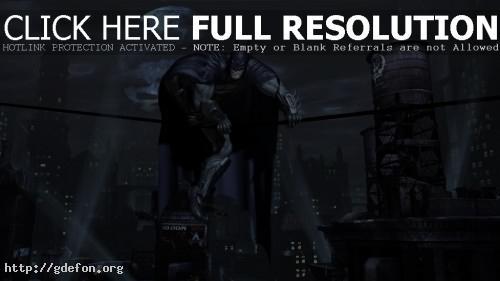 Обои BATMAN: Arkham Asylum фото картики заставки